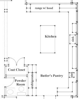 Pelan Dapur Restoran  Desainrumahidcom