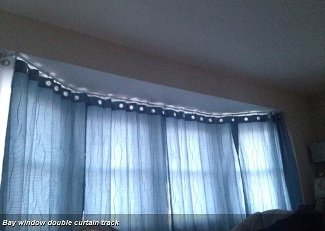 Bendable Curtain Poles For Bay Windows