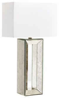 Cyan Design Metro Mirrored Table Lamp, Mirrored Glass ...