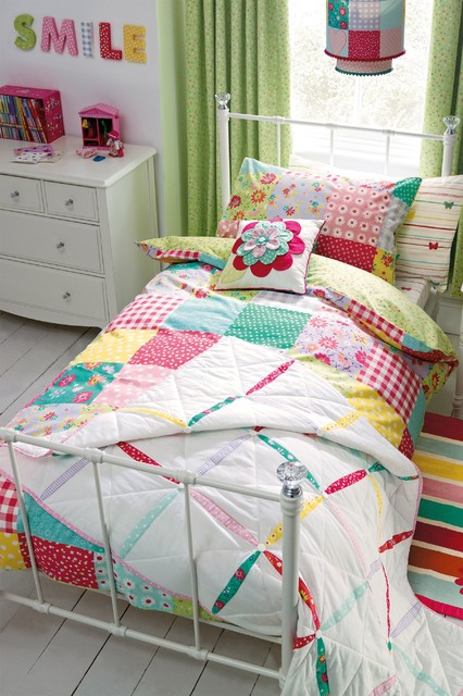 Patchwork Bed Set  Modern  Children's Bedding  By Next