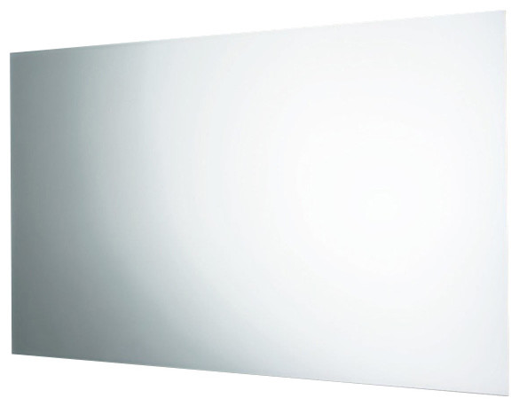 Horizontal or Vertical Wall Mounted Polished Edge Mirror