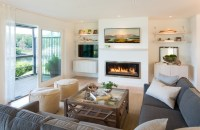 Stageneck Modern - Beach Style - Living Room - portland ...
