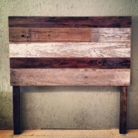 Reclaimed wood headboards on Pinterest | Reclaimed Wood ...