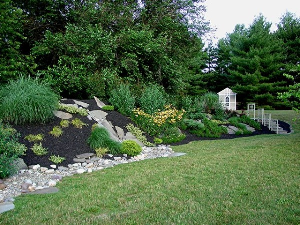 baltimore county shed and landscaping