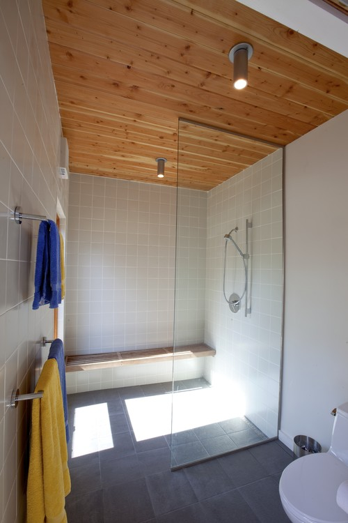 Anyone have experience with wood ceiling in the bathshower Ive seen some really cool ones on