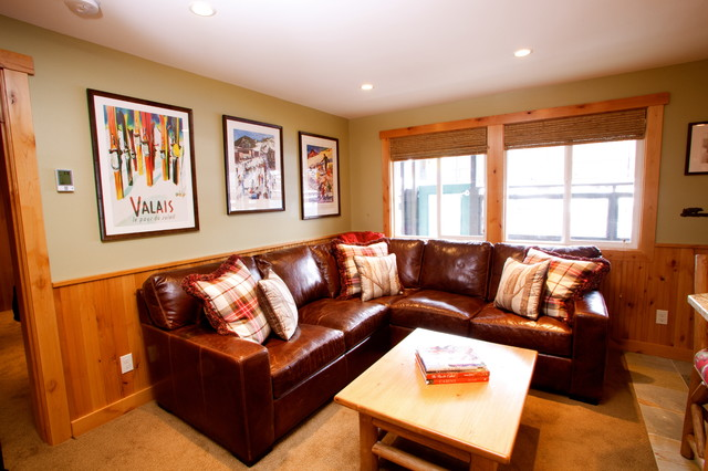 Crystal Mountain Ski Condo  Traditional  Family Room