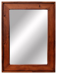 Wooden Mirror-Cherry Wood Stained Mirrors 18x22. Custom ...