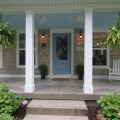 Cape cod style home traditional porch grand rapids by koetje