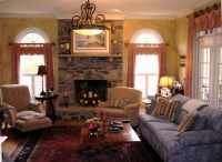 French Country Designs Family Room - Transitional - Family ...