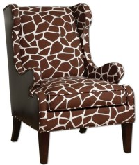 Nursery Giraffe Wing Chair - Eclectic - Armchairs And ...