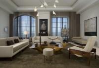 High Rise Residence - Modern - Living Room - atlanta - by ...