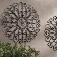 Gracie Iron Wall Art - Grandin Road - Traditional ...