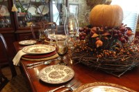 Thanksgiving Table Setting - Traditional - Dining Room ...