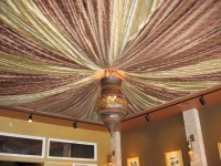 Tented Ceiling - Mediterranean - Window Treatments - san ...