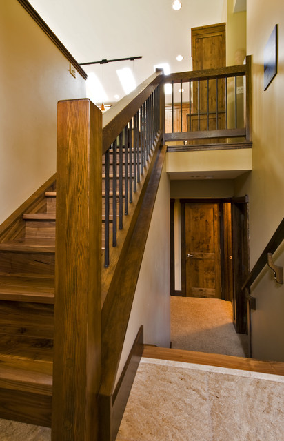 GLEN CRESCENT RENOVATION  Contemporary  Staircase  calgary  by Sticks and Stones Design