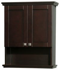 Acclaim Solid Oak Bathroom Wall-Mounted Storage Cabinet in ...