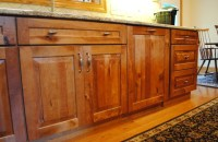 Rustic Birch Kitchen - Rustic - Kitchen Cabinetry ...