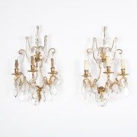 French-Antique-Crystal-Bronze-Sconces.jpg wall-sconces