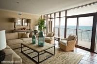 Luxury Oceanfront Condo - Contemporary - Living Room ...