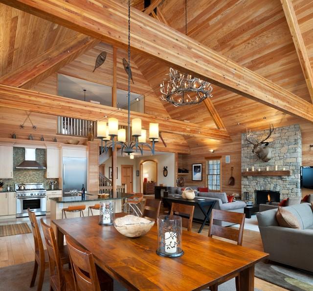 Open Floor Plan Homes Loft