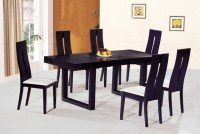 Contemporary Luxury Wooden Dinner Table and Chairs ...