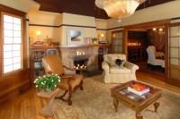 Warm & Inviting San Francisco Living Room - Craftsman ...