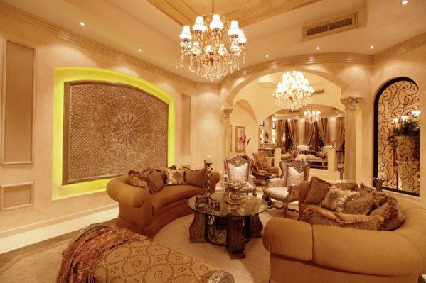 regal living room design Regal Palace - Traditional - Living Room - other metro - by Perla Lichi Design