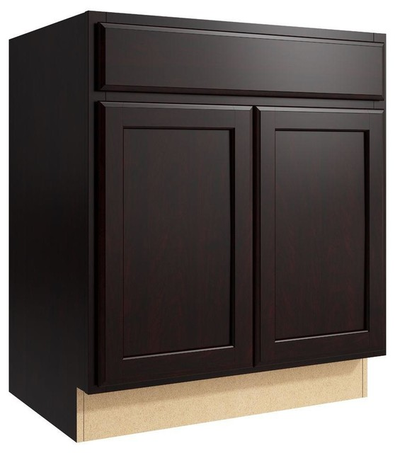 Cardell Cabinets Stig 30 in W x 34 in H Vanity Cabinet