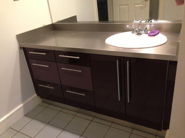 Cabinet Refacing  Modern  Bathroom  denver  by IDS Group