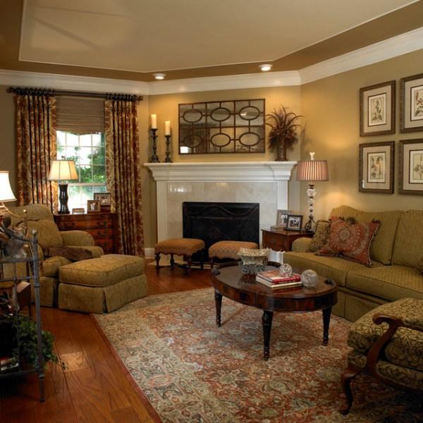 traditional living room interior design Formal Living Room - Traditional - Living Room - austin - by Dawn Hearn Interior Design