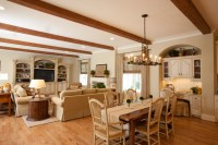 French Country - Traditional - Family Room - houston - by ...