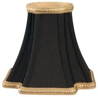 Decorative Trim Inverted Corners Chandelier Lampshade