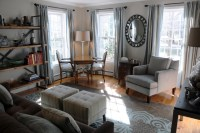 Living Room/Home Office - West Newbury - Traditional ...