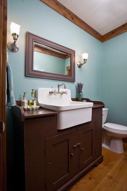 Mill Creek Ridge Farmhouse  Farmhouse Bathroom