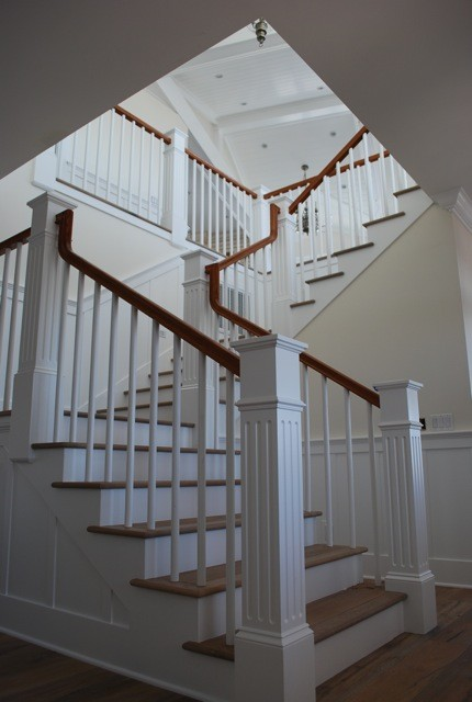 Craftsman Cape Cod  Traditional  Staircase  san diego