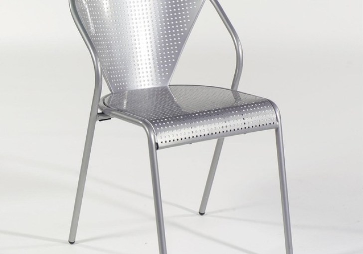 Modern Metal Dining Chairs