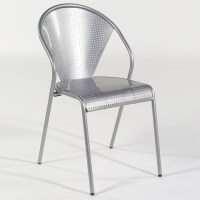 Ital Modern Preston Metal Dining Chair