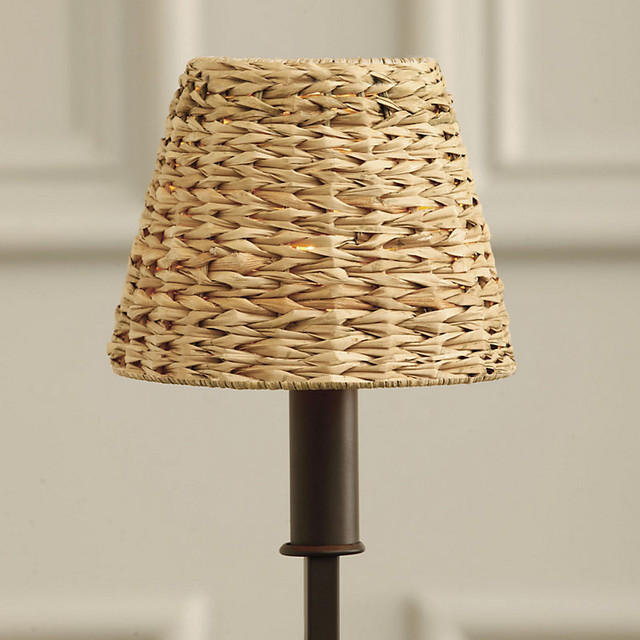 Woven Seagrass Chandelier Shade