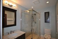 South Boston Brownstone Renovation - Modern - Bathroom ...