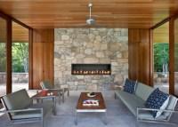 6' Custom Gas Fireplace - Contemporary - Patio - vancouver ...