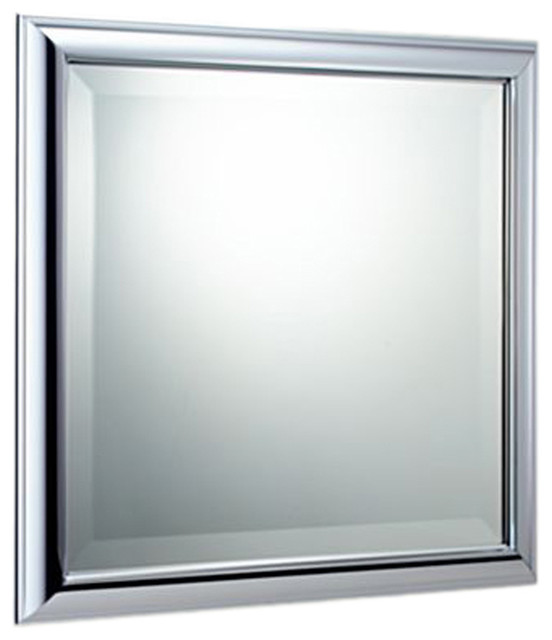 Brizo 69880PC Vesi Polished Chrome Wall Mirror  Modern