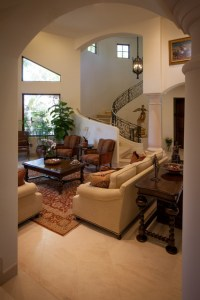 Old World Spanish Living Room - Mediterranean - Living ...