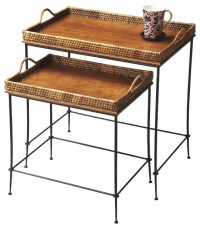 Loft Nesting Table tropical-side-tables-and-end-tables