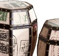 Vintage Paris Postcard 2pc Storage Drum Set - Modern ...