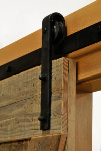 Hammered Barn Door Hardware Kit - Rustic - Barn Door ...