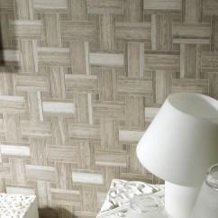 Grey Sofa Living Room Decor Dark Blue Lines Silver Wood - By Porcelanosa Usa