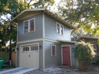 Two-Story Garage Apartment - Craftsman - Garage And Shed ...