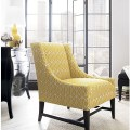 Yellow chair contemporary living room chairs