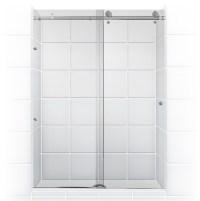 Sliding Barn Doors: Sliding Glass Shower Barn Doors