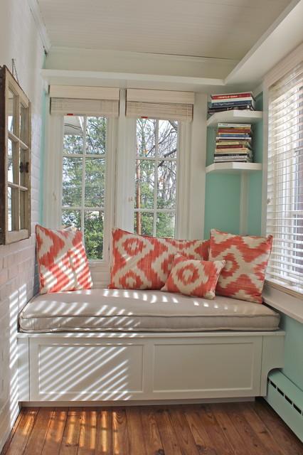 Sunroom Window Seat  Traditional  Family Room  new york